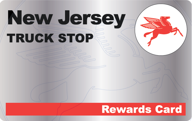New Jersey Truck Stop Rewards Card